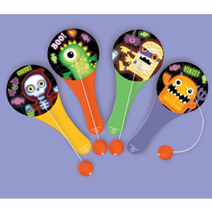 Monster Paddle Ball- 12ct