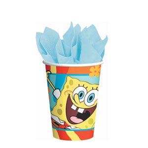 SpongeBob Buddies 9 oz. Cups- 8ct