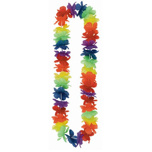 Hawaiian Lei - Rainbow