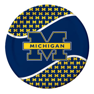 Michigan 9 Inch Plates