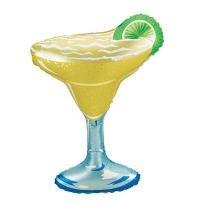 Margarita Glass Shape Balloon- 36in