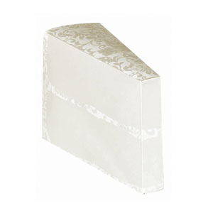 Cake Slice Favor Boxes - 24 Ct