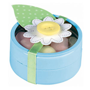 Tin Baby Shower Favor - Blue