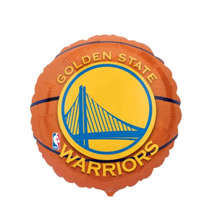 Golden State Warriors Balloons