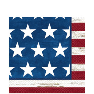 Americana Luncheon Napkins - 100ct