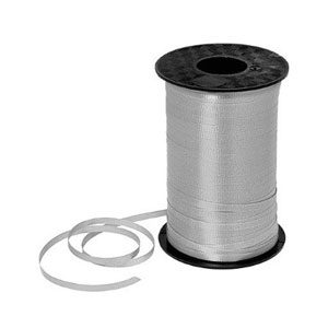 Silver Curling Ribbon- 500yds