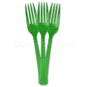 Forks - Emerald Green