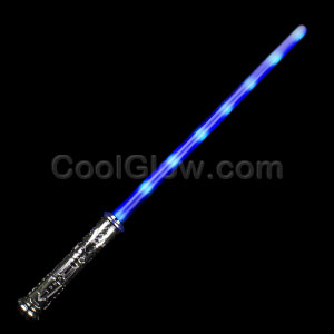LED Blue Space Saber - 27.5 Inch
