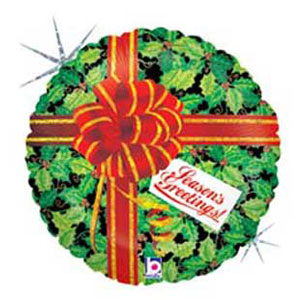 Holly Day Greetings - 18 Inch