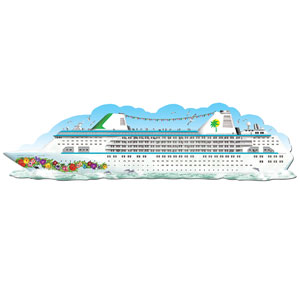 Jointed Cruise Ship- 6ft
