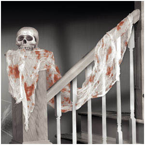 Bloody Gauze Draping- 15ft