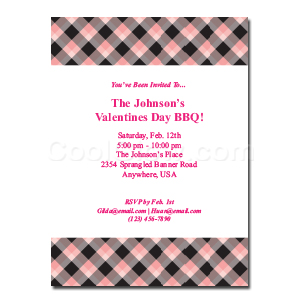 Candy Hearts - Custom Invitations