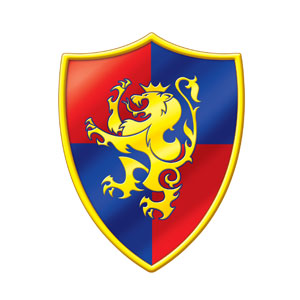 Medieval Crest Cutout - 16in