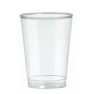 Clear Plastic 10 Ounce Tumbler - 20ct