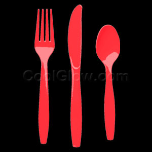 Red Cutlery Assortment - 150ct