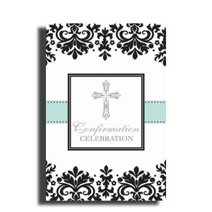 Confirmation Postcard Invitations- 20ct