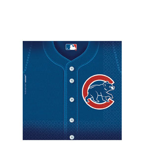 Chicago Cubs Luncheon Napkins- 36ct