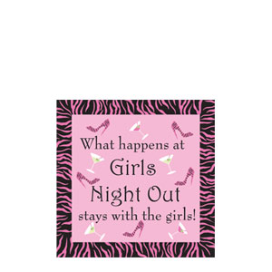 Girls Night Out Cocktail Napkins