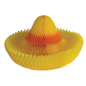 Honeycomb Sombrero Centerpiece