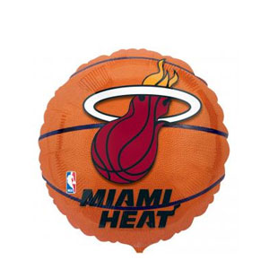 Miami Heat Balloons
