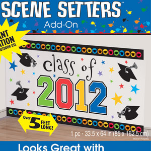 Grad 2012 Scene Setter Add-On- 65in