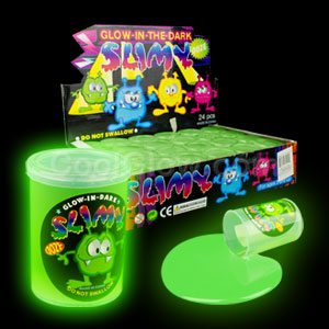 Glow in the Dark Slime - Green