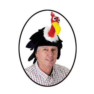 Over the Hill Vulture Hat - One Size Fits Most