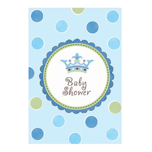 Little Prince Baby Shower Invites - 8ct