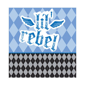 Little Rebel Tablecover - 108in