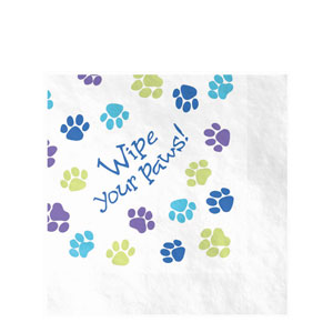 Party Pups Luncheon Napkins- 16ct