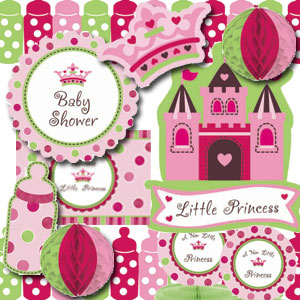 Little Princess Decorating Kit - 10pc