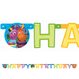 Backyardigans Illustrated Letter Banner- 8ft