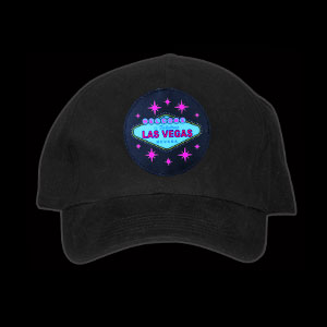 LED Animated Hat - Vegas