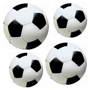 Soccer Assorted Cutouts- 12pc