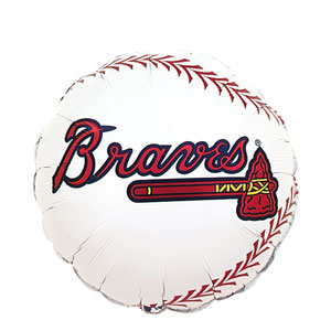 Atlanta Braves Balloon- 18in
