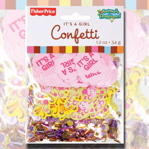 It's a Girl Confetti - 1.2 oz