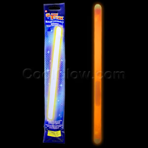14 Inch Glow Sticks - Orange