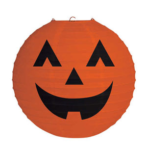 Pumpkin Paper Tissue Lanterns- 12in