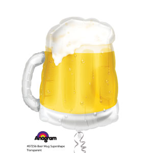 Beer Mug Shape Balloon- 23in