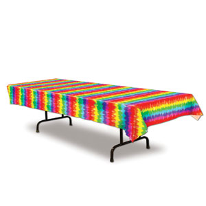 Tie-Dyed Tablecover - 108in