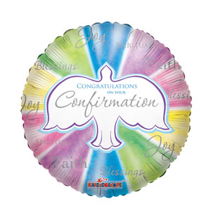 Congrats on Your Confirmation Balloon- 18in
