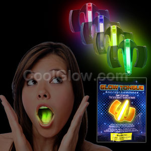Fun Central O042 Glow in the Dark Mouth Guard - Assorted