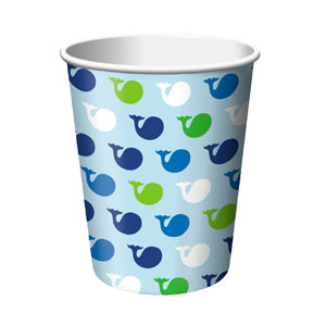 Ocean Preppy 9oz Cups - 16ct