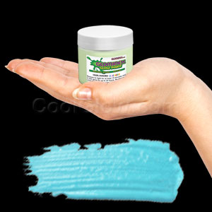 Glominex Glow Paint 2 oz Jar - Invisible Day Aqua