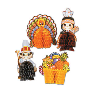 Thanksgiving Playmates - 4ct