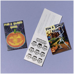Halloween Activity Pads- 12ct
