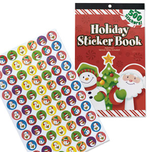 Special Christmas Sticker Value Book- 616ct