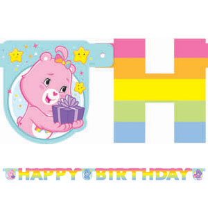 Care Bears Happy Day Illustrated Letter Banner- 5ft