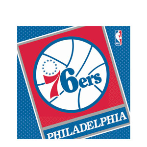 Philadelphia 76ers Luncheon Napkins