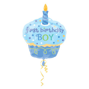 Sweet Little Cupcake Balloon - SuperShape